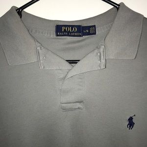 Polo by Ralph Lauren Shirts - Gray Polo